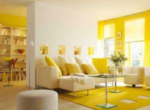 Màu vàng dễ tạo cảm giác lo âu