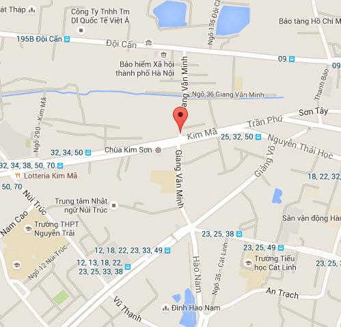 Sửa nhà tại phố Giang Văn Minh giá rẻ