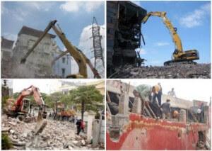 Tháo dỡ công trình xây dựng