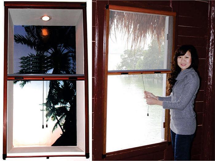 Cửa lưới chống muỗi dạng cuốn