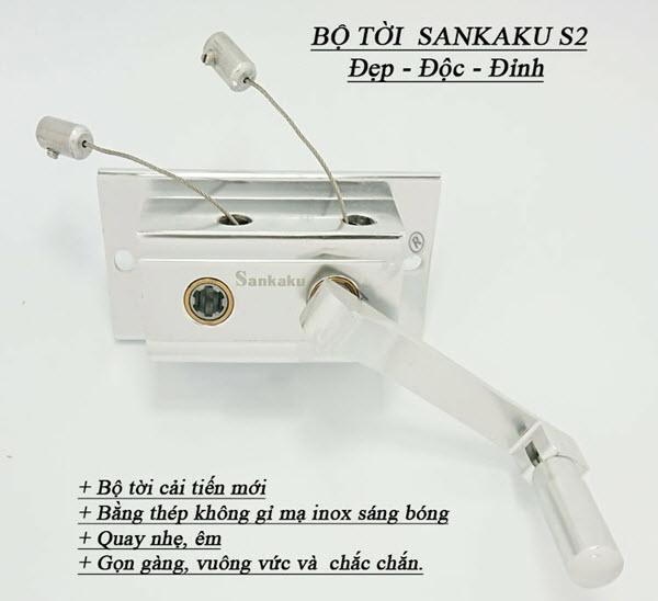 Giàn phơi thông minh Sankaku S2