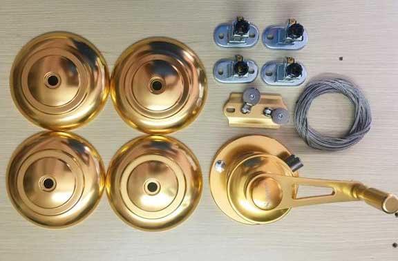 Bộ tời Giàn phơi thông minh STAR-KS980 Gold