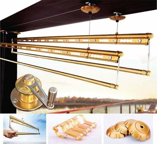 Giàn phơi thông minh STAR-KS980 Gold
